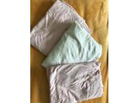 3 fitted cot sheets