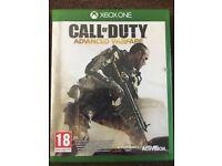 Xbox One Call Of Duty Black Advanced Warfare Disc Version