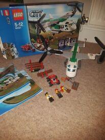 Lego air cargo 60021