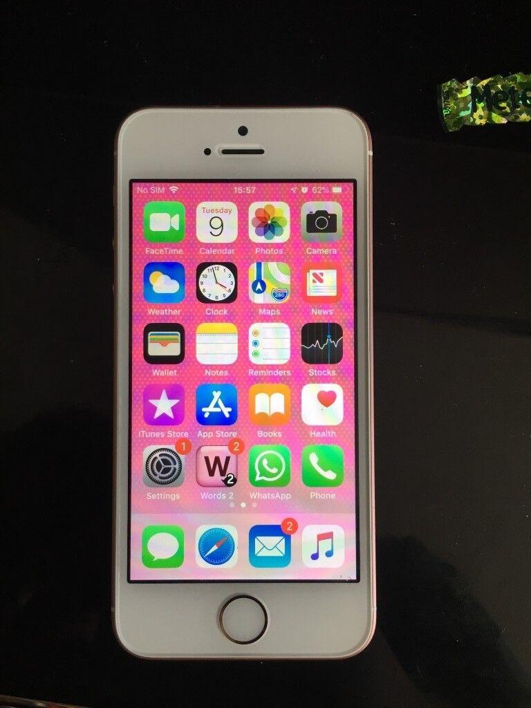 Apple Iphone Se 32gb Rose Gold Unlocked In Hythe