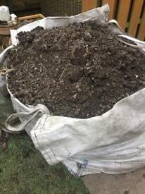 Topsoil (worms included)