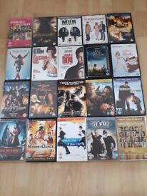 Large DVD collection- 20 dvds included in this bundle