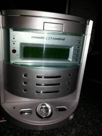 Goodmans Remote-Controlled Radio Alarm Clock