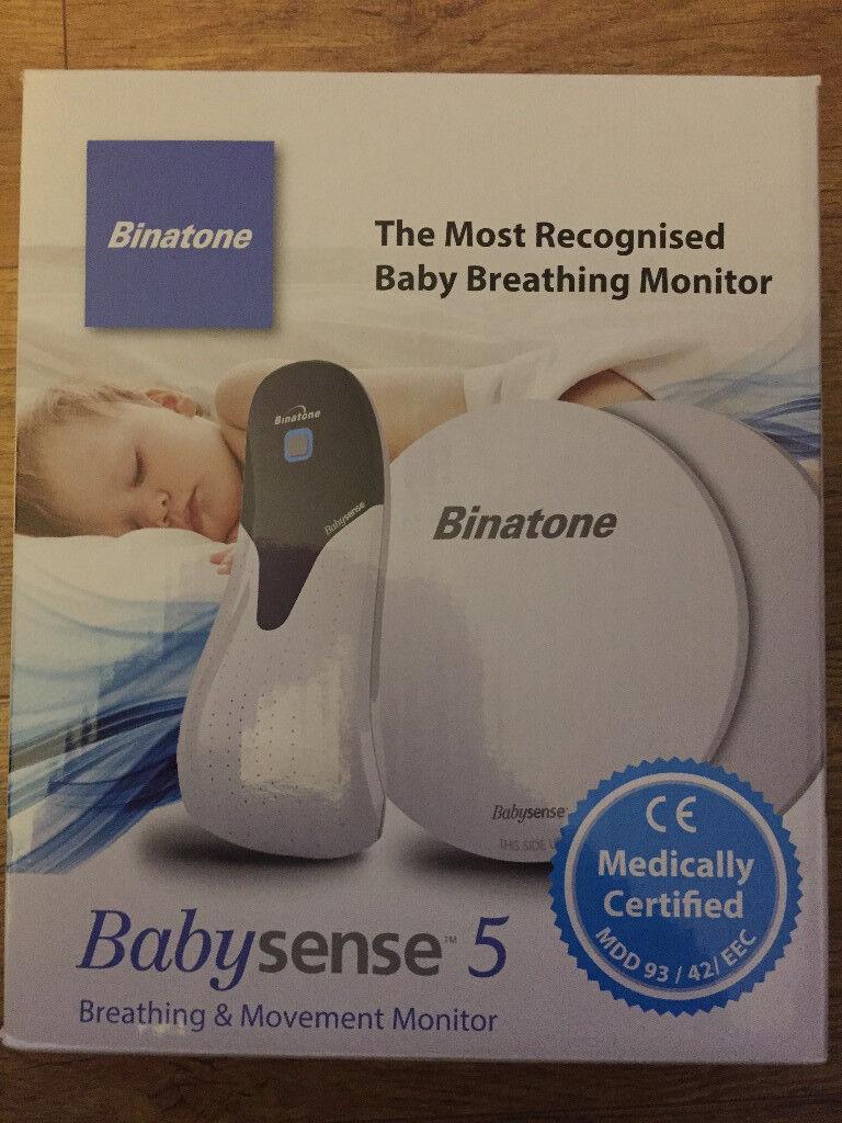 Binatone Babysense 5 - baby breathing monitor - *NEW*