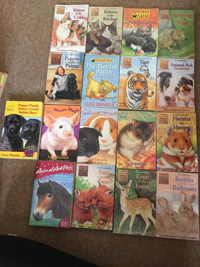 animal ark puppies in a puzzle daniels lucy