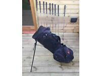 Golf club set + free bag