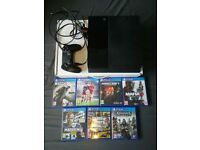 Playstation 4 W/ 7 Games ( Including GTA 5 & Minecraft) 500GB