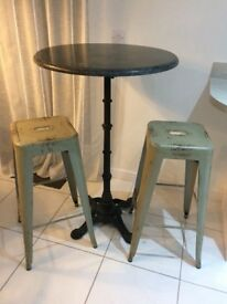Barker & Stonehouse Bar table and two stools