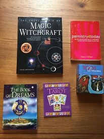 Spiritual books, dreams , palmistry and tarot.