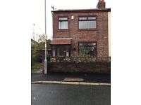 Spacious three bedroom end terrace in Ince, Wigan. Avaialble immediately.