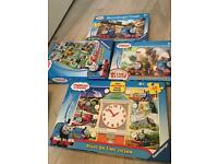 Thomas tank puzzles