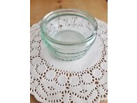 Ramekins - clear glass - tableware