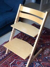 Stokke Tripp Trapp chair in beech