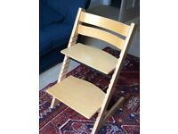 Stokke Tripp Trapp chair in beech