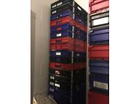 10x Industrial Crates | Commercial,Warehouse, Factory Storage, Business USE.