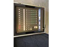 Yamaha MC802 8 Channel Mixer w/Flight Case