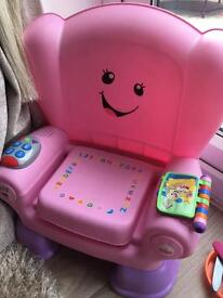 Smart stages Laugh and Learn chair