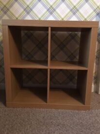 Cube display, light, bedside cabinet & couch