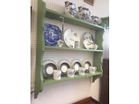 Kitchen, dinnng room, plate shelves, for display