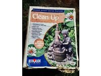 Bermuda Self Contained Clean Up Water Feature TATTY BOX FROM STORAGE