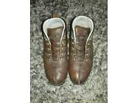 USED SIZE 10.5 TIMBERLAND HIKING BOOTS