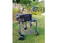 Uniscan triumph rollator walker with seat