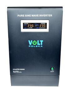 Pure Sine Wave Inverter Charger Sinus Pro 5000W 48V /240V 15A AVR UPS