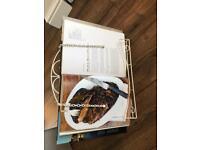 Vintage style recipe book kitchen stand