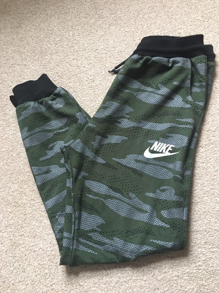 Nike camo joggers