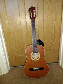 1/2 size Hudson graduate guitar with really nice sound