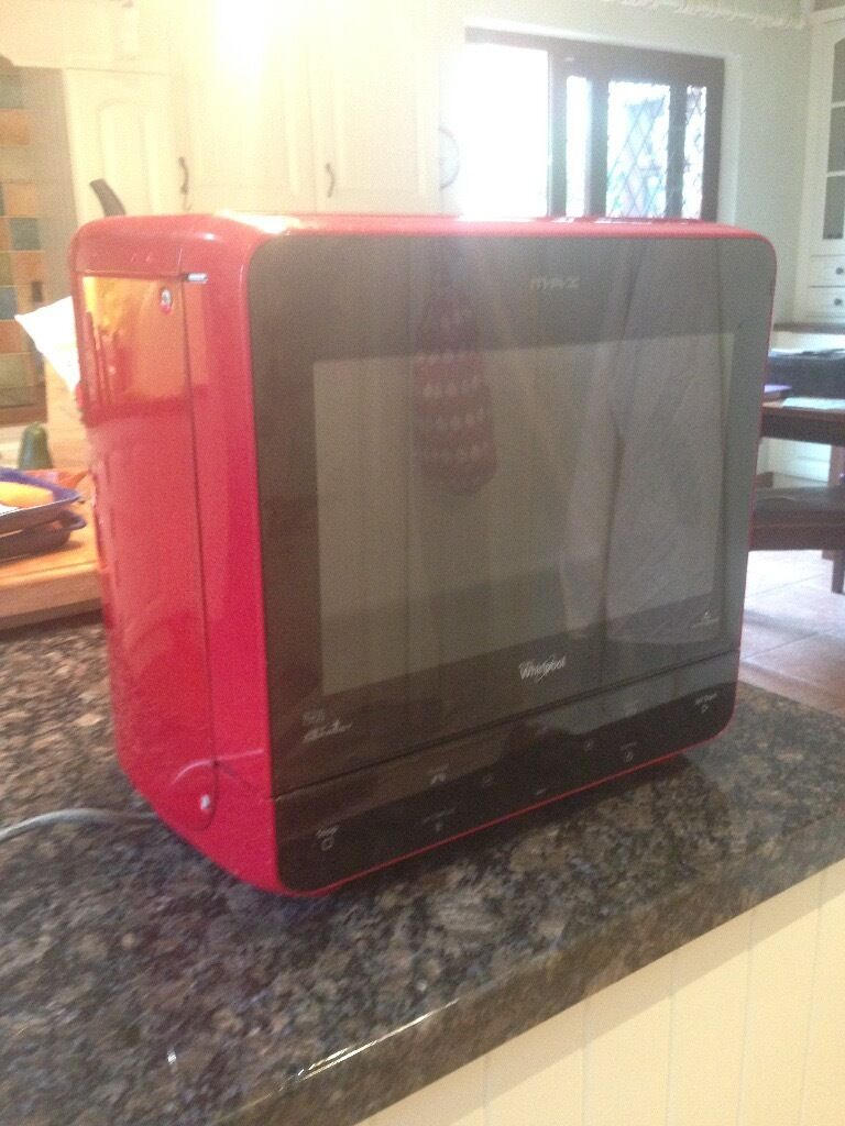 Whirlpool Solo Microwave Max 35 13l Red