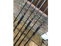 3 x tony Fordham sportex carp fishing rods