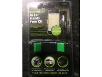 Universal in car hands free kit