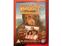 Harry and the Henderson's DVD. Brand new, still in packaging.