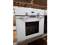 CAEFL60W White 60cm True Fan LED Electric Oven