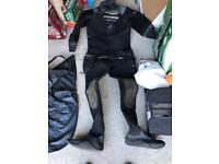 Northern diver dry suit + Beaver Drysuit