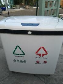 Large Kitchen Recycle Bin 2 large pull out bins , sensor opening NEW