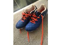 Boys football boots size 1