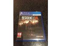 Resident Evil 7 (PS4) as new condition