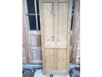 Victorian wooden doors