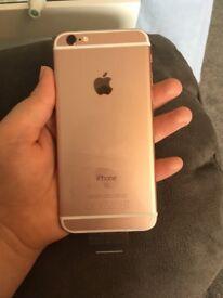 1Phone 6s, Rose Gold, 32gb, brand new.