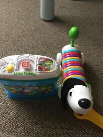Vtech alphabet singing dog good condition.