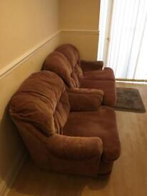 FREE 2 seater + 1 seater sofa set
