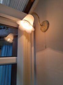 wall lights pair