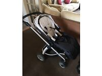 Sola buggy with carrycot Mamas and Papas