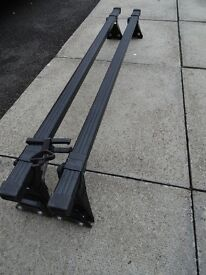 Universal Roof Bars For cars with Fixpoints Vauxhall Zafira B for Plate 99 to 55