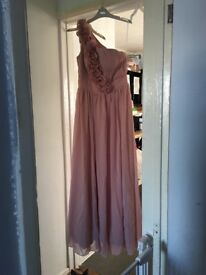 Blush pink dress/ bridesmaid dress