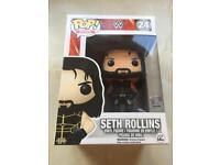 WWE Seth Rollins Pop Vinyl Retired / Vaulted
