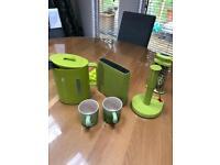 Designer lime green kitchen bundle