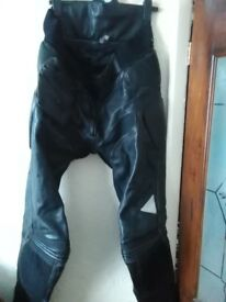 Motorcycle trousers leather